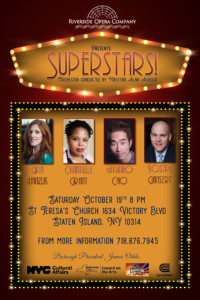 The Riverside Opera Company (ROC), Maestro Alan Aurelia, presents: Superstars!