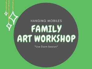 Make your own double-sided hanging mobile and learn the basic mechanics of kinetic sculpture in this introductory workshop.