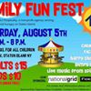 Family Fun Fest with Project Hospitality August 5, 2017